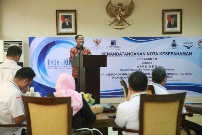 Gandeng Asosiasi Pedagang, Strategi LPDB Hindari UMKM dari Tengkulak