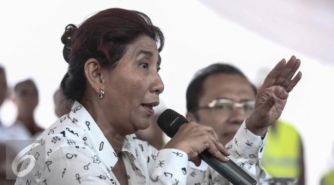 Menteri Susi Perjuangkan Asuransi Kecelakaan buat Nelayan