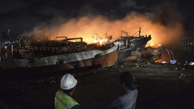 39 Kapal yang Terbakar di Pelabuhan Benoa Tak Punya Asuransi