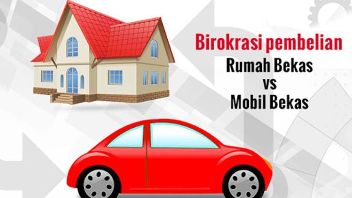 Birokrasi Beli Rumah Bekas Vs Mobil Bekas