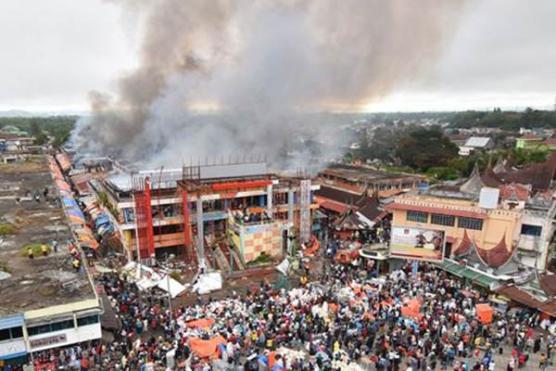 Klaim Asuransi Kebakaran Pasar Atas Bukittinggi Capai Rp17,5 Miliar