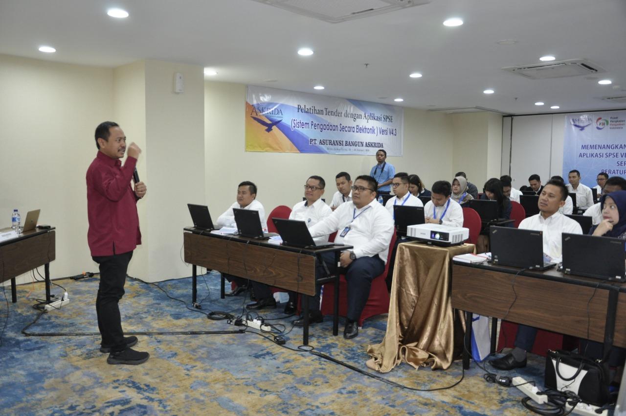 Pelatihan Tender dengan Sistem Pengadaan Secara Elektronik