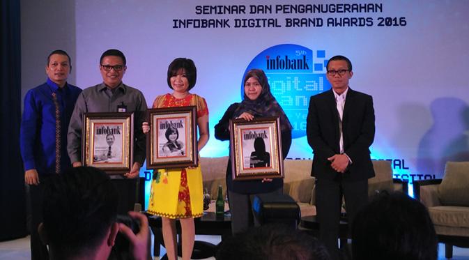 Penganugerahan Infobank Digital Brand Award 2016